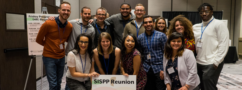 Image of past SISPP attendees at the 2018 Annual Convention